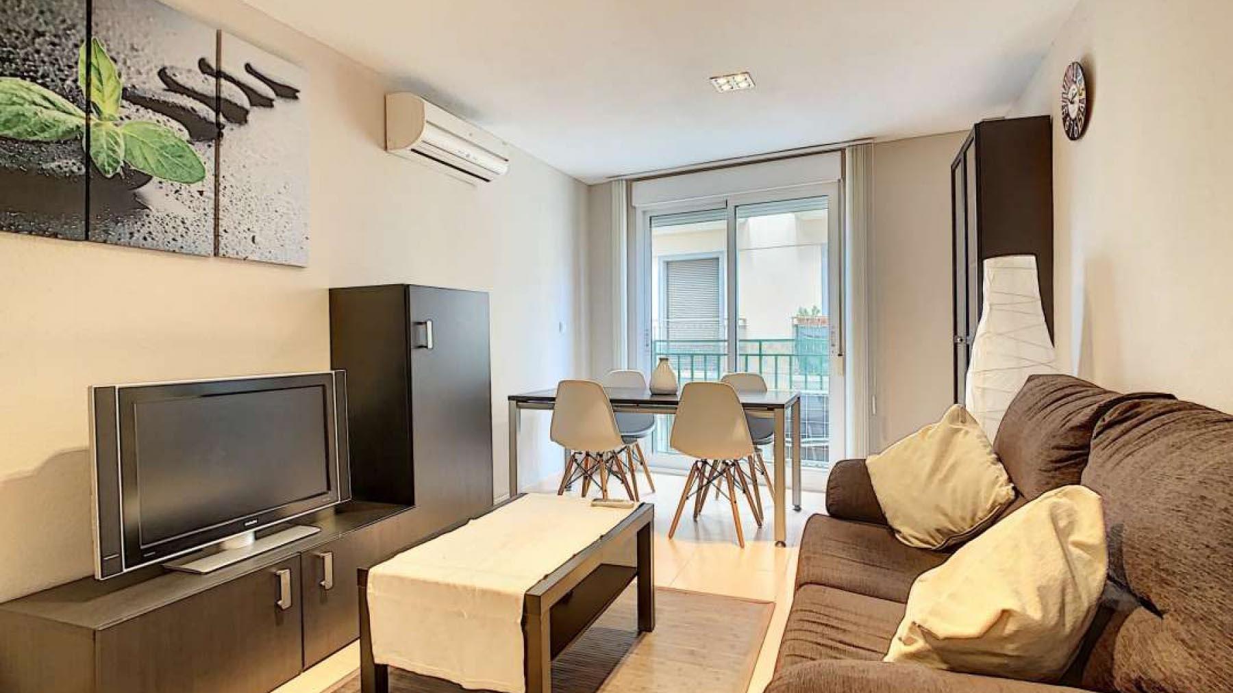 Аренда квартира в Испании город Аликанте 1 спальня в центре города San Antón